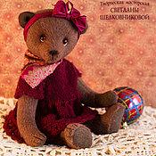 """Куклы и игрушки ручной работы. Ярмарка Мастеров - ручная работа Авторский мишка тедди """"Аля"""" с ревуном. Handmade."""