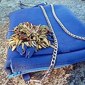 Сумки и аксессуары handmade. Livemaster - original item Leather handbag with chain ( ART. 50091). Handmade.