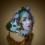 """Украшения ручной работы. Ярмарка Мастеров - ручная работа Кольцо """"The Frog Princess"""". Handmade."""