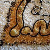 """Украшения ручной работы. Ярмарка Мастеров - ручная работа Колье """"Встреча на песке"""". Handmade."""