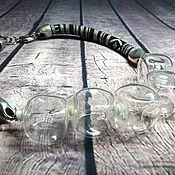 Украшения ручной работы. Ярмарка Мастеров - ручная работа Колье Lampwork Бусины лэмпворк. 829. Handmade.