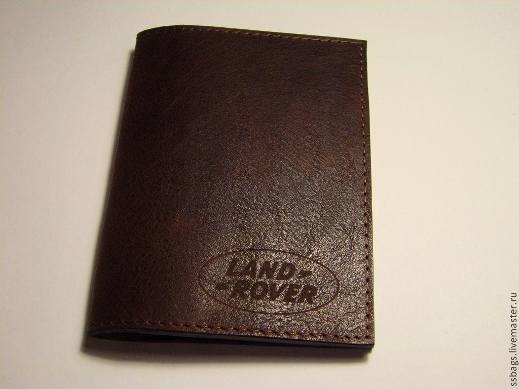 Passport cover avtodokumentov or leather, Wallets, St. Petersburg,  Фото №1