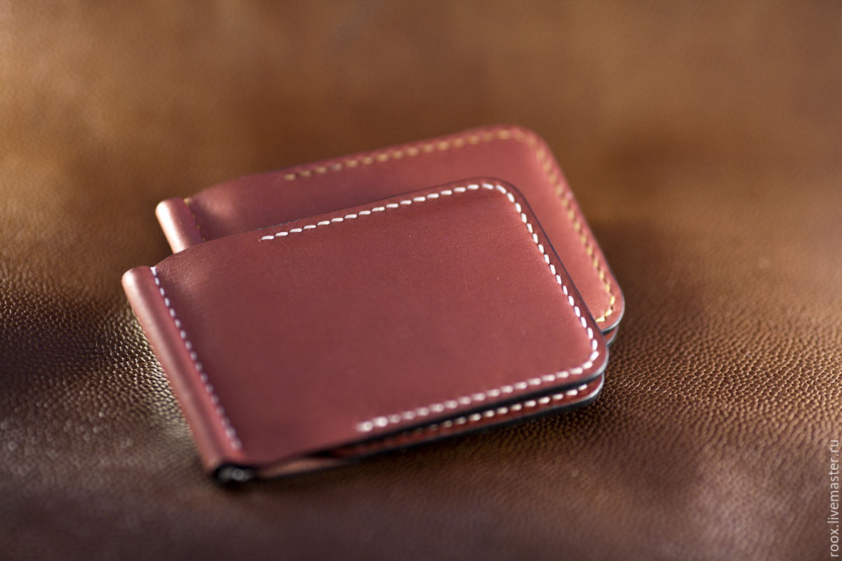 Buy wallet money clip horween leather on livemaster online shop buy wallet money clip wallets business card holders handmade wallet money clip horween leather magicingreecefo Choice Image