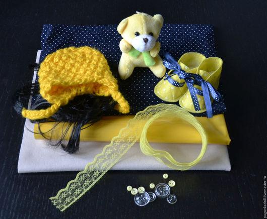 Куклы и игрушки ручной работы. Ярмарка Мастеров - ручная работа. Купить Набор для  шитья куклы Маня. Handmade. МК