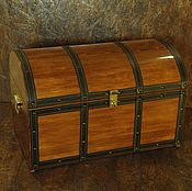 Для дома и интерьера ручной работы. Ярмарка Мастеров - ручная работа Сундук деревянный. Handmade.