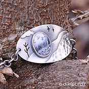 handmade. Livemaster - original item Silver bracelet