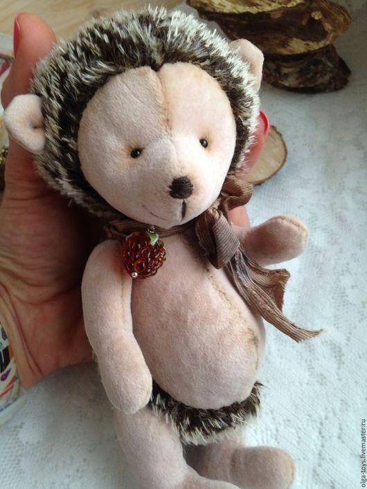 Мишки Тедди ручной работы. Ярмарка Мастеров - ручная работа. Купить Улыбака. Handmade. Тедди ежик, подарок на любой случай