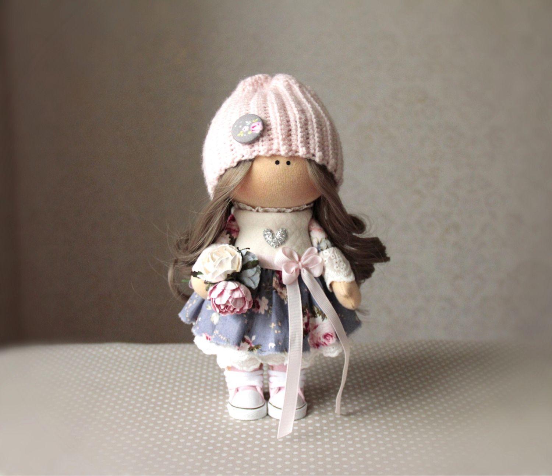 Интерьерная кукла, Тыквоголовка, Бор, Фото №1