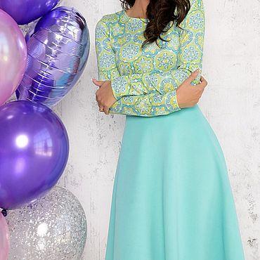 Одежда ручной работы. Ярмарка Мастеров - ручная работа -50% от цены на модель Платье 019/6. Handmade.