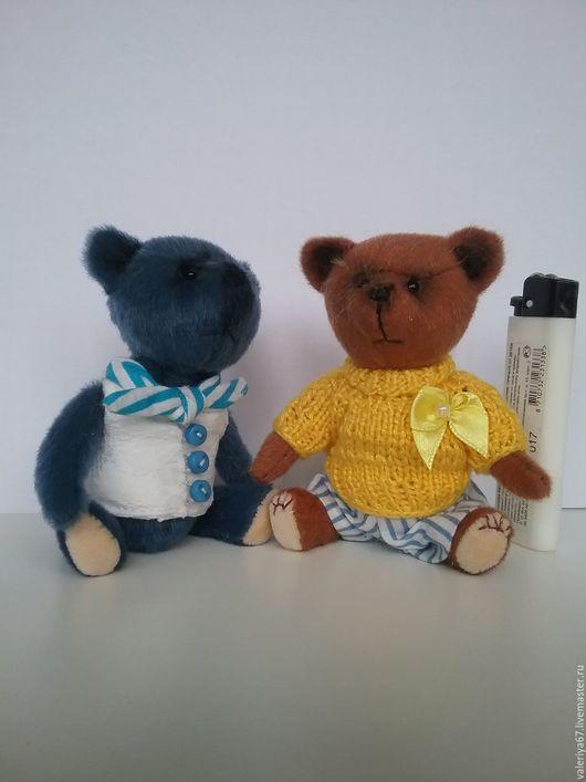 Мишки Тедди ручной работы. Ярмарка Мастеров - ручная работа. Купить Мишки Тедди. Handmade. Синий, опилки