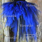 Одежда handmade. Livemaster - original item Skirt-tutu made of tulle with a train adult Yanochka. Handmade.