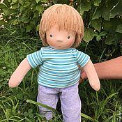 Куклы и игрушки handmade. Livemaster - original item Vanya is a Waldorf doll. Handmade.