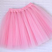 Детская юбка пачка из фатина на 6-9 лет