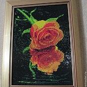Картины и панно ручной работы. Ярмарка Мастеров - ручная работа Роза в отражении. Handmade.