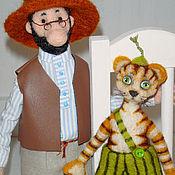 Куклы и игрушки ручной работы. Ярмарка Мастеров - ручная работа Петсон и Финдус (герои книг и мультфильмов). Handmade.