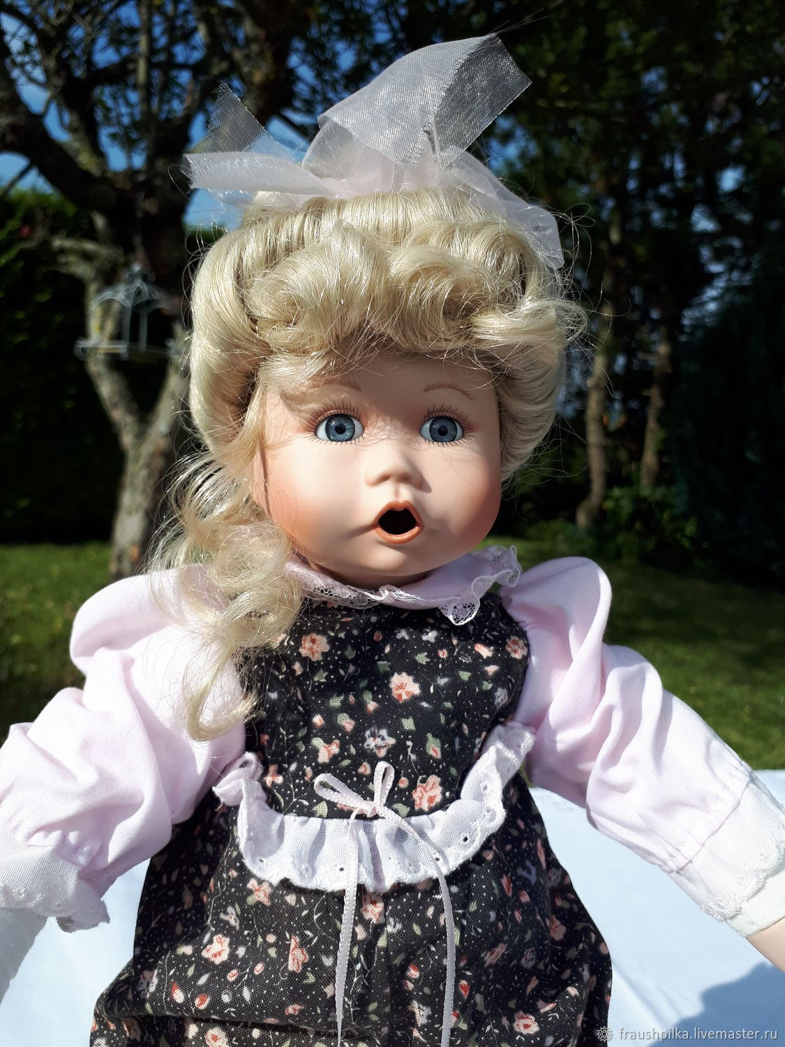 Collectible porcelain doll My bear from Jean Goodyear, Dolls, Augsburg,  Фото №1