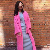 Одежда handmade. Livemaster - original item Cardigan fuchsia womens. Handmade.