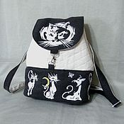 Сумки и аксессуары handmade. Livemaster - original item Backpack cat access.. Handmade.