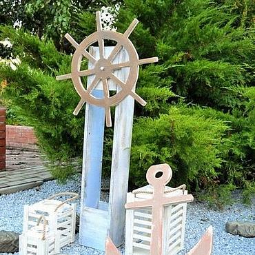 Свадебный салон ручной работы. Ярмарка Мастеров - ручная работа Морской набор фотозона. Handmade.
