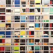 """Картины и панно ручной работы. Ярмарка Мастеров - ручная работа Ральф Флек """"Окна"""". Handmade."""