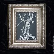 """Картины и панно ручной работы. Ярмарка Мастеров - ручная работа """"Готический рассказ"""" картина из серии """"Готический рассказ"""" готика. Handmade."""