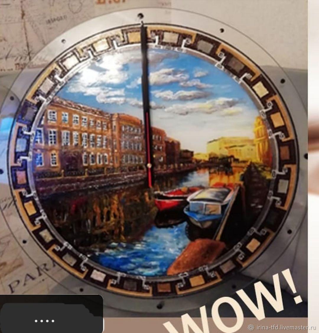 """Часы """"Северная Венеция"""", Часы классические, Санкт-Петербург,  Фото №1"""