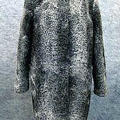 Одежда ручной работы. Ярмарка Мастеров - ручная работа Шубка из серого каракуля. Handmade.