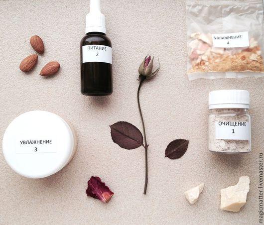 Органический DIY комплекс по уходу за сухой кожей лица.