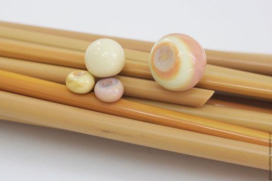 Для украшений ручной работы. Ярмарка Мастеров - ручная работа. Купить итальянское стекло ручной работы - Giallo  для lampwork. Handmade.
