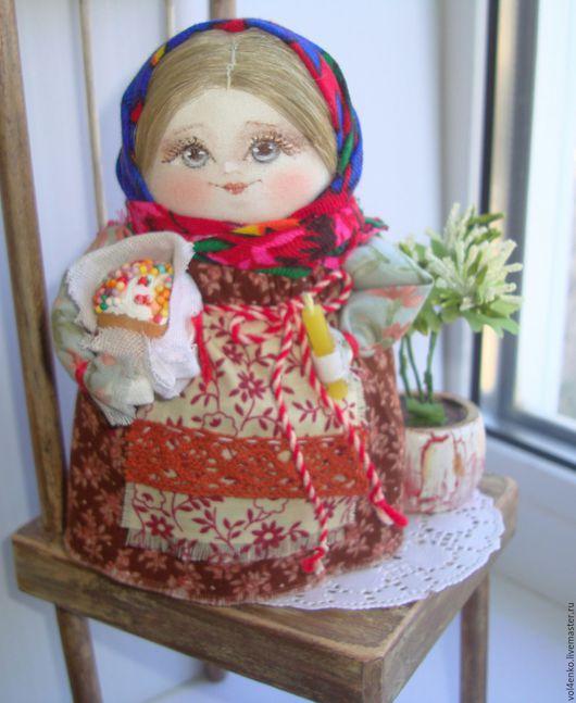 Народные куклы ручной работы. Ярмарка Мастеров - ручная работа. Купить Акулинка.. Handmade. Комбинированный, ручная авторская работа, кукла