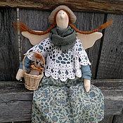 Куклы и игрушки ручной работы. Ярмарка Мастеров - ручная работа Ксюша и Компот. Handmade.
