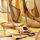 """Текстиль, ковры ручной работы. Детский плед """"Солнечный зайчик"""". 'Принцесса и Кот' (Ирина). Интернет-магазин Ярмарка Мастеров."""