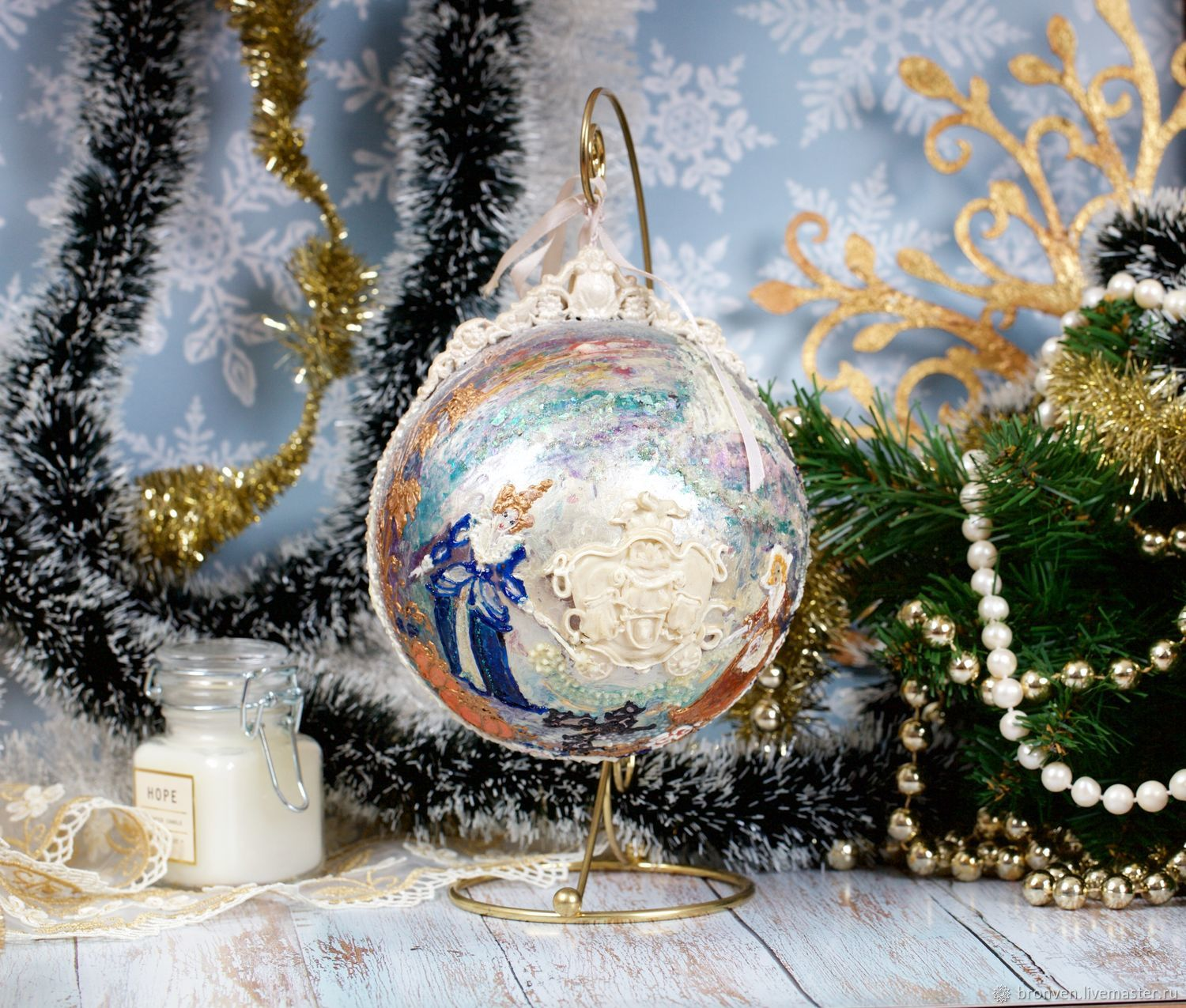 Big ball 'Cinderella' gift to the little Princess, Christmas gifts, Moscow,  Фото №1