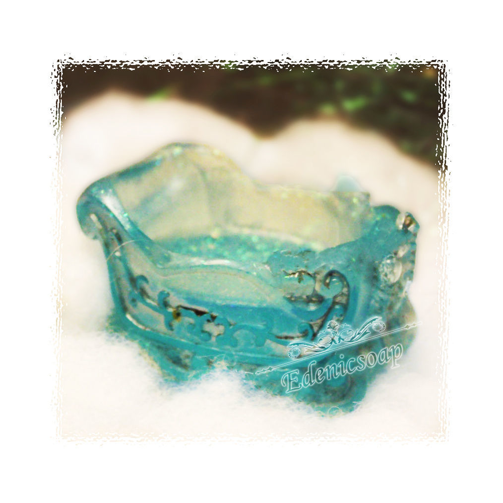 A magical winter sleigh. Handmade soap. Christmas gifts.Edenicsoap.
