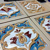 Для дома и интерьера handmade. Livemaster - original item Igumnovsky tiles. Handmade.