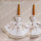 Свадебный салон ручной работы. Ярмарка Мастеров - ручная работа Салфетки для свечей Жаворонки. Handmade.