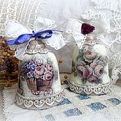 Сувениры и подарки ручной работы. Ярмарка Мастеров - ручная работа Керамический колокольчик в стиле прованс. Handmade.