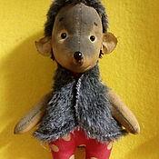 Куклы и игрушки ручной работы. Ярмарка Мастеров - ручная работа Братцы Ёжики. Handmade.