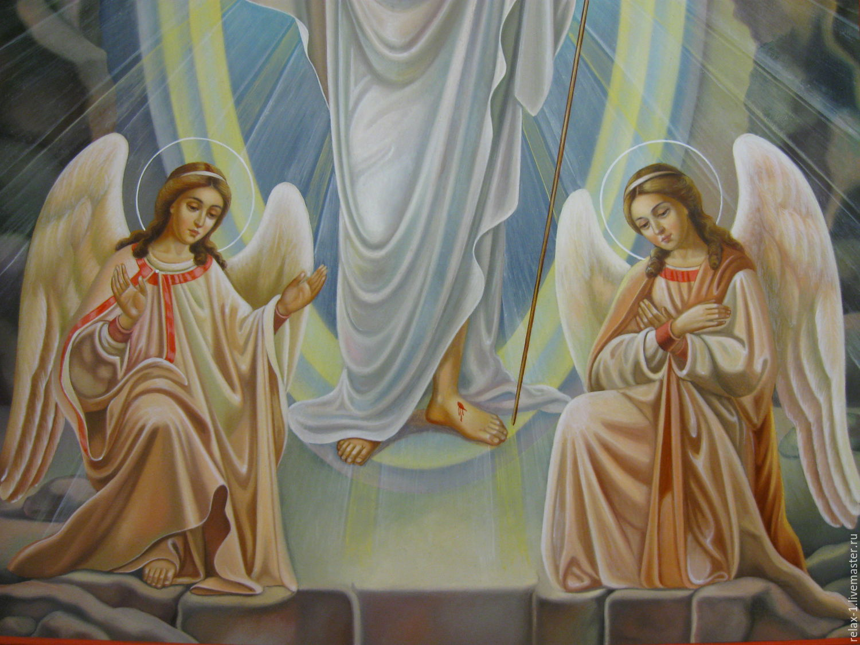 христос воскресе картинки ангелы убийстве