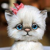 Куклы и игрушки ручной работы. Ярмарка Мастеров - ручная работа кошка Лиззи. Handmade.