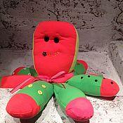Куклы и игрушки ручной работы. Ярмарка Мастеров - ручная работа Осьминожик-развивашка. Handmade.
