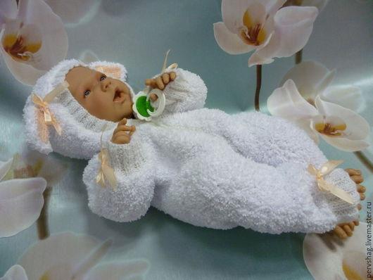 Одежда для кукол ручной работы. Ярмарка Мастеров - ручная работа. Купить Маленькая Долли. Handmade. Белый, детям, новорожденным