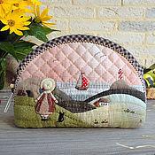 Сумки и аксессуары handmade. Livemaster - original item Large cosmetic bag