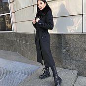 Одежда handmade. Livemaster - original item Winter trench coat with fur. Handmade.