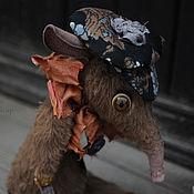 """Куклы и игрушки ручной работы. Ярмарка Мастеров - ручная работа Крысы """"Дети Парижа"""" Серия """"BabyRat"""". Handmade."""