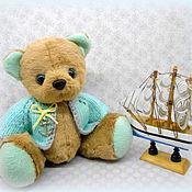 Куклы и игрушки ручной работы. Ярмарка Мастеров - ручная работа Мишка тедди Морячок. Handmade.