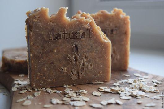 """Мыло ручной работы. Ярмарка Мастеров - ручная работа. Купить """"Ванильное печенье"""" молочное мыло по старинным рецептам. Handmade. Бежевый"""