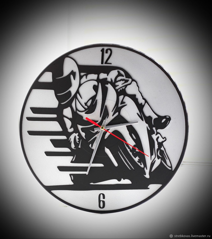 Wall clock Sport Bike, Watch, Krasnoyarsk,  Фото №1