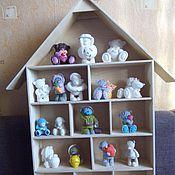 Для дома и интерьера ручной работы. Ярмарка Мастеров - ручная работа Мишка Тедди - фигурки. Handmade.
