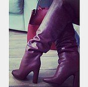 Обувь ручной работы. Ярмарка Мастеров - ручная работа Сапоги ручной работы. Зима. Handmade.